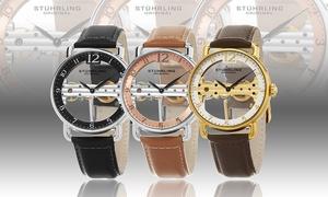 Stuhrling Men's Skeletonized Dress Watch