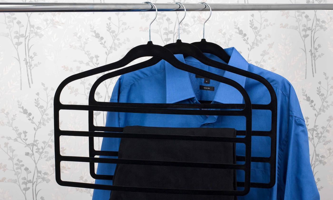 Up to 12 Beldray Four-Tier Trousers Hangers