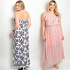 Women's Plus-Size Summer Maxi Dresses