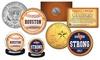 Houston Astros Houston Strong 2017 World Champions Coin Set (2-Piece)