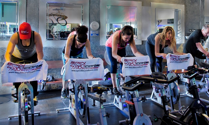 Spin 360 Core Fitness - From $29 - Glendora, CA | Groupon