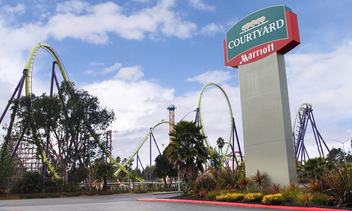 The Courtyard by Marriott Vallejo Napa Valley  - Vallejo: One- or Two-Night Stay for Up to Four at The Courtyard by Marriott Vallejo Napa Valley in Vallejo, CA