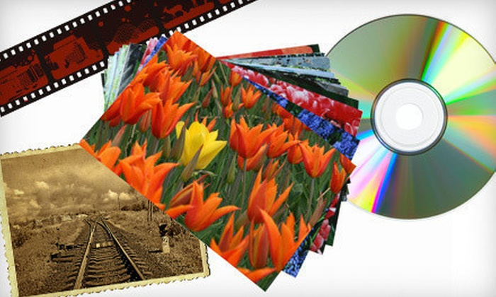 Custom Photo and Framing - Middletown: Video-to-DVD Transfers or Scanning of Up to 250 Photographs at Custom Photo and Framing in Middletown (Up to 64% Off)