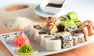 Samurai pub: Dining Credit Valid for the Sit-Down or Take-Out Menu at Samurai Pub Japanese Restaurant (Up to 52% Off)