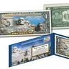 Mt. Rushmore National Memorial Colorized U.S. $1 or $2 Bills