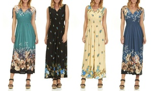 Women's Maxi Dress. Plus Sizes Available.