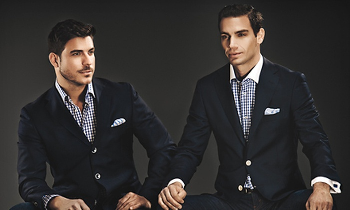 Gemelli - Beverly Hills: $149 for a Fitted Italian Dress Shirt and Tie at Gemelli in Beverly Hills (Up to $305 Value)