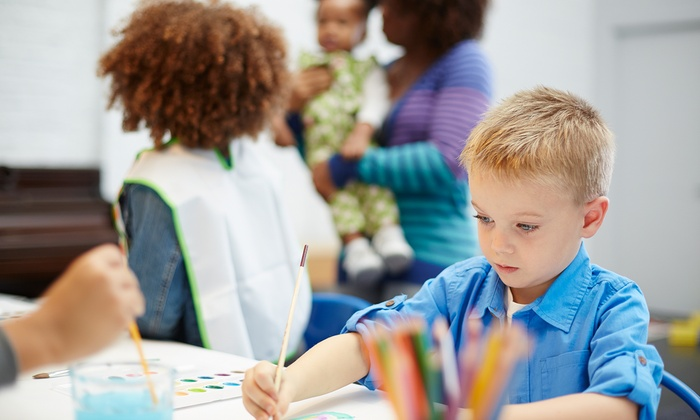 Shadow Oak Art - Arcadia: $69 for Four 90-Minute Kids' Introductory Art Classes at Shadow Oak Art($160 Value)
