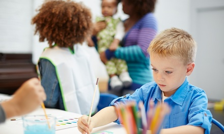 $20 Off $25 Worth of Painting Lesson - Kids