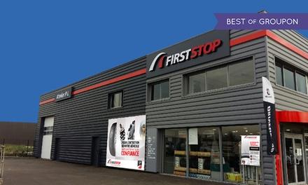 Bon d'achat d'une valeur de 100 € à valoir dans l'un des 93 centres FirstStop participants pour seulement 50 €