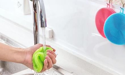 1x, 2x oder 4x Reinigungsbürste aus Silikon in der Farbe nach Wahl (Hamburg)