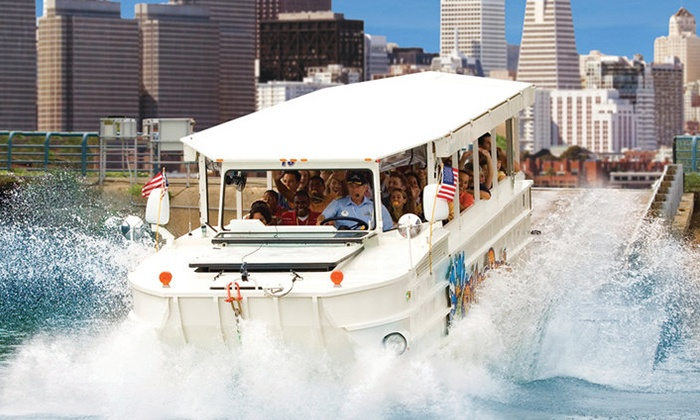 Ride The Ducks San Francisco - Fisherman's Wharf: Land-and-Water Tour for Two, Four, or Six from Ride The Ducks San Francisco (Up to 44% Off)