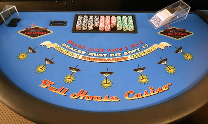 Full House Casino Events - West Side: $250 for $500 Worth of Event Equipment Rental — Full House Casino Events