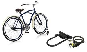 Serrure de vélo 2 pièces