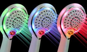 douchekop met veranderende led verlichting en temperatuurdisplay