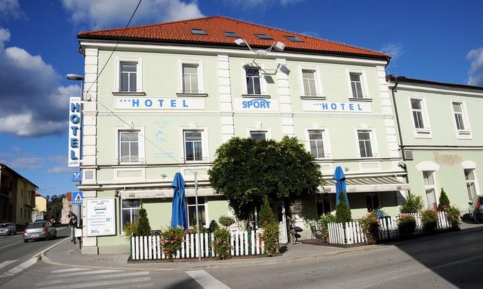 Sport Hotel - Postojna: Postumia: Sport Hotel, fino a 3 notti con colazione, pranzo o cena e sauna per 2 persone, festività incluse