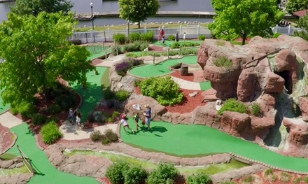 18-Hole Round of Mini Golf with Soft Serve or Ice Cream for 2, 3, or 4 at Buoy 18 Miniature Golf (Up to 35% Off)