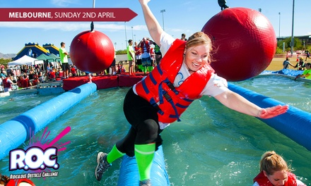 Ridiculous Obstacle Challenge 5K Entry and TShirt at Flemington Racecourse up to $99 Value
