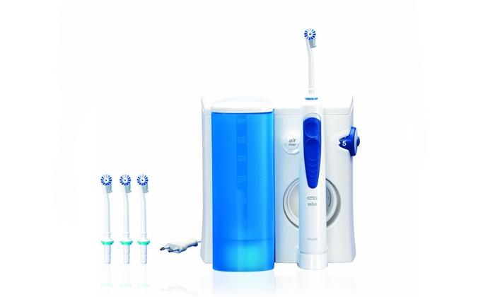 oral b oxyjet oral irrigator groupon goods. Black Bedroom Furniture Sets. Home Design Ideas