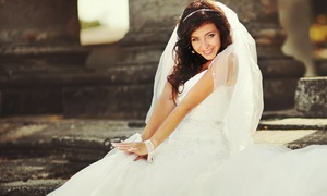 Best for Brides: Bridal Gown or Wedding Accessories at Best for Bride (50% Off). Two Options Available.