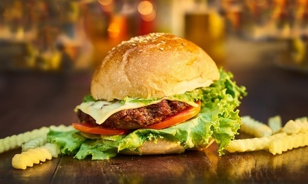 Menu burger o snack e birra a 19,90€euro