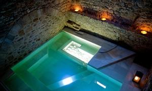 Aqva Gerunda: Circuito termal en baños romanos de 90 minutos para 2 personas con opción a masaje desde 56 € en Aqva Gerunda