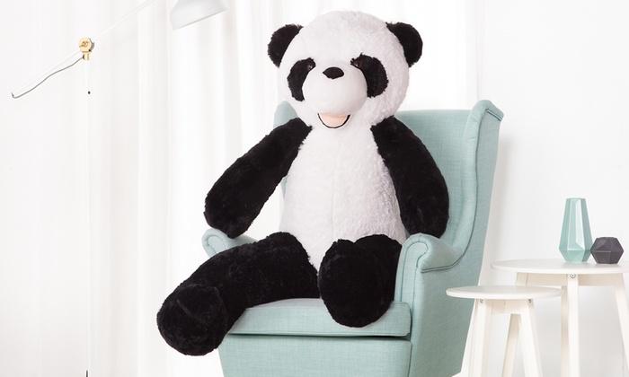 peluche g ante panda groupon. Black Bedroom Furniture Sets. Home Design Ideas