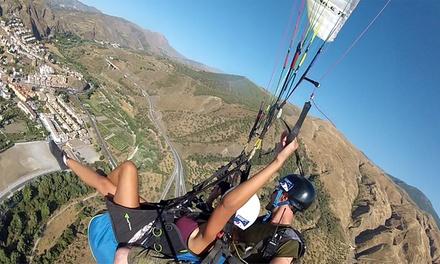 Vuelo en parapente en Sierra Nevada por 79,95 € en Adventuregranada