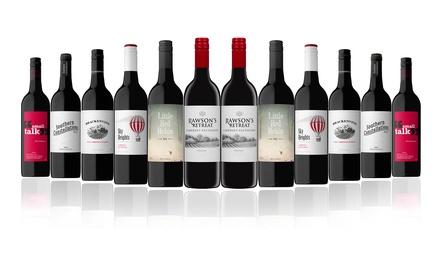 $79 for 12 Bottles of Australian Red Mixed Dozen Featuring Rawson's Retreat Cabernet Sauvignon (Don't Pay $240)