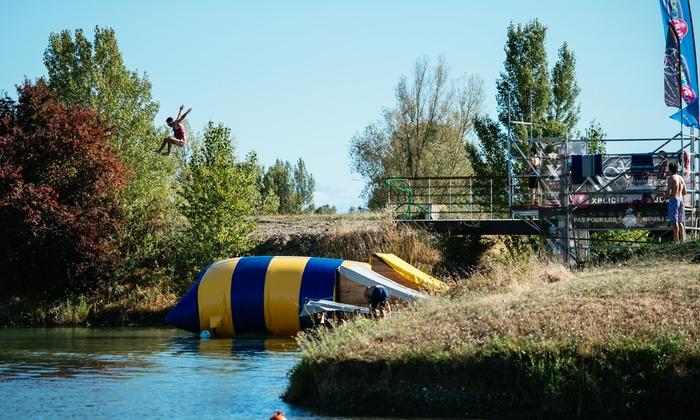 Pass extrem park/water jump, blob jump, stand up paddle ou flyboard pour 2, 3 ou 4 dès 10 € au parc eXtrem Ride Park
