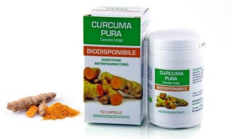 50 capsule di curcuma Naturpharma