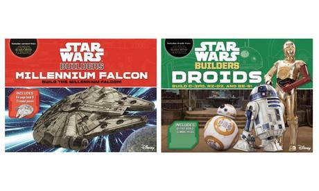 Star Wars Builders Series Books - Droids and Millennium Falcon 0e6b840a-1ecd-11e7-b4d0-00259069d868