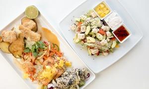 Coco Cafe Club & Restaurant: 4-daniowa uczta z rybami i owocami morza dla dwojga za 109 zł i więcej w Coco Cafe Club & Restaurant w Gdyni (-40%)
