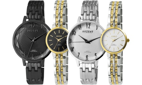 1 o 2 relojes mujer Akzent exclusive
