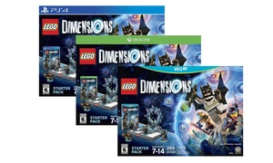 LEGO Dimensions Starter Pack for PS3, PS4, WiiU, Xbox One, or Xbox 360