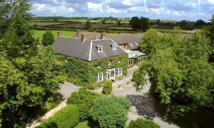 Wiltshire: 1Night Stay for Two with Murder Mystery Evening, ThreeCourse Dinner and Breakfast at Marsh Farm