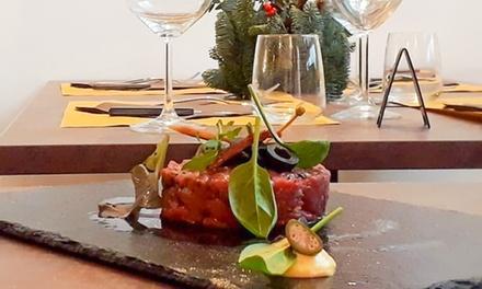 Cena gourmet in steakhouse a 49,90euro