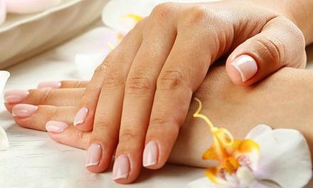 3 o 5 manicure con smalto