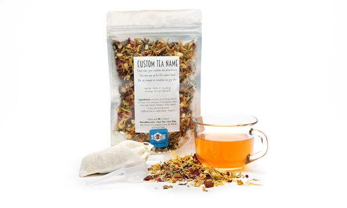 Up to 35% Off a Custom Tea Blend: Custom 2- or 4-Ounce Tea Blend from BlendBee (Up to 35% Off)