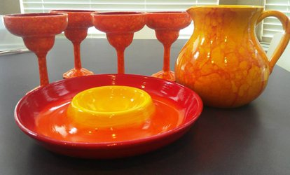 Ceramics Painting for One or Two at Color Me Mine Uptown (Up to 45% Off). Two Options Available.