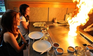 Akita Sushi & Hibachi Steakhouse: Japanese Food at Akita Sushi & Hibachi Steakhouse (50% Off). Two Options Available.
