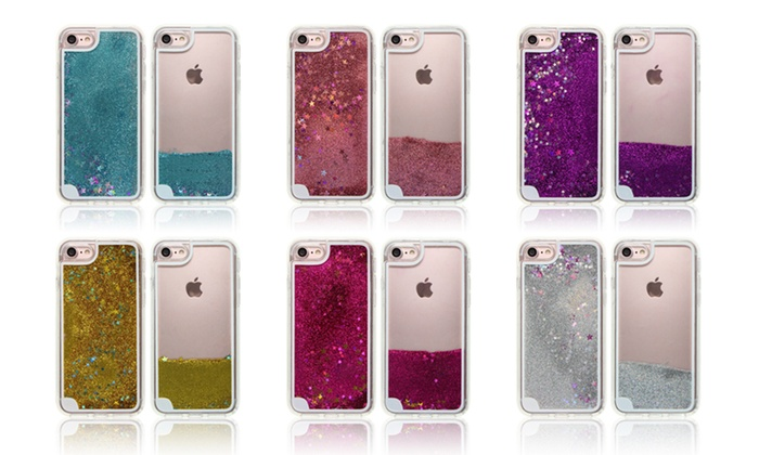 super popular 6e0ee c8023 Up To 35% Off on Quicksand Glitter iPhone Case | Groupon Goods