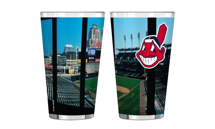 MLB Stadium Pint Glasses (2-Pack)