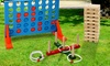 Groupon Goods Global GmbH: Jumbo-Sized Family Garden Games