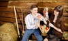 MD Resort Bed & Breakfast - Fort Worth: $12 for Sunday Countryside Scavenger Hunt with Outdoor Games and Animals at MD Resort ($25 Value)
