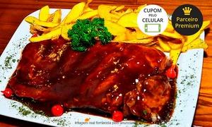 Croco Bar Restaurante: Croco Bar – Santo André: rodízio de costela + acompanhamentos  para 1 ou 2 pessoas