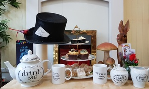 Mad Hatter's Cafe: Mad Hatter's Afternoon Tea for Two or Four at Mad Hatter's Cafe