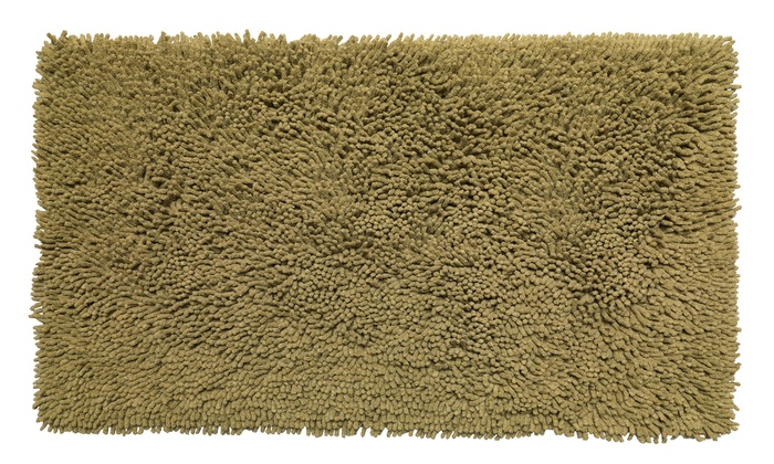 Up To 33 Off On Shaggy Noodle Cotton Bath Rug Groupon Goods