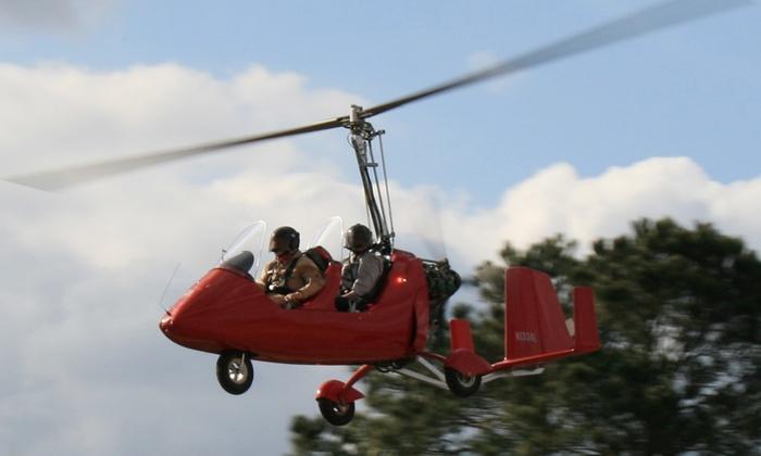 AutoGyro of Louisiana - Hammond Regional Airport: One or Three 20-Minute Flying Experiences at AutoGyro of Louisiana (Up to 36% Off)