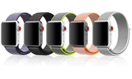 Apachie Velcro Sport Strap for Apple Watch in Choice of Colour